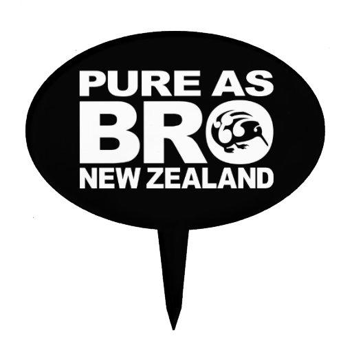 Kiwi, Pure New Zealand Cake Picks