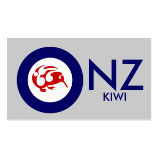 Kiwi Roundel Pack Of Standard Business Cards