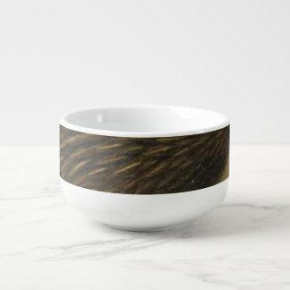Kiwi Semi-Abstract Soup Mug