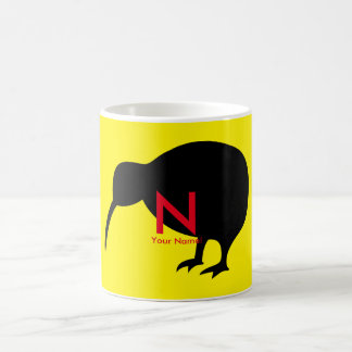KIWI silhouette Coffee Mug