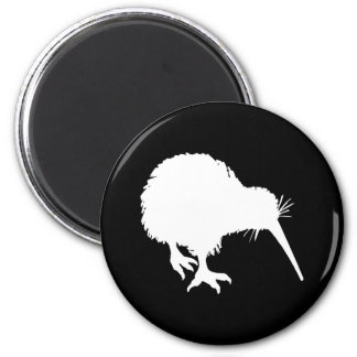Kiwi Silhouette Fridge Magnet