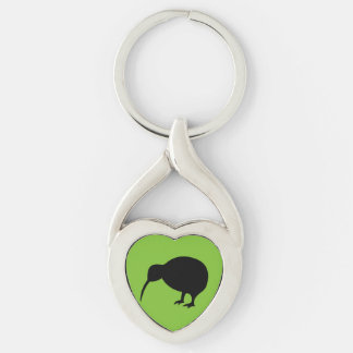 KIWI silhouette Key Ring