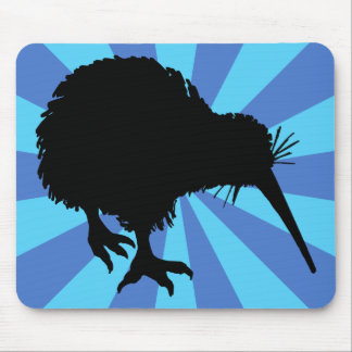 Kiwi Silhouette Mouse Pads