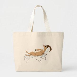 Kiwi Simile Book Characters Large Tote Bag