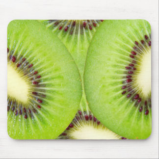 Kiwi slices mouse pad