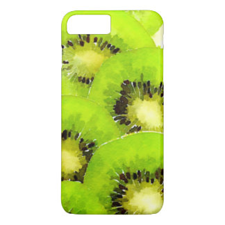 Kiwi | Watercolor Fruit Picture iPhone 7 Plus Case