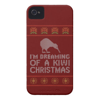 Kiwi Xmas iPhone 4 Case-Mate Case