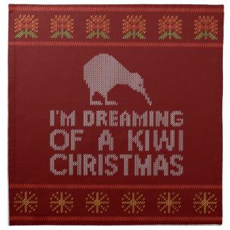 Kiwi Xmas Napkin