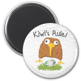 """""""Kiwi's Rule"""" Rugby Fridge Magnet"""