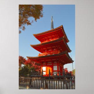 Kiyomizu-dera Pagoda Poster