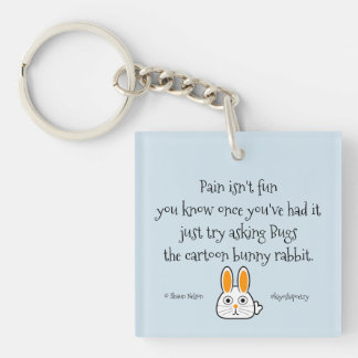 Kiyoshipoetry Bunny N' Tree Key Ring