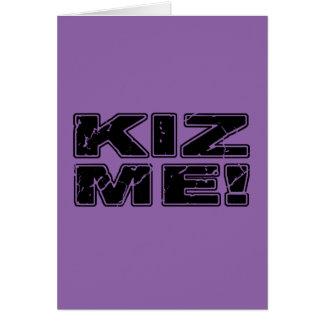Kiz Me Kizomba Card