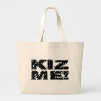 Kiz Me Kizomba Large Tote Bag