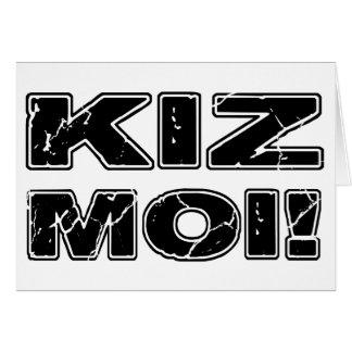 Kiz Moi! Kizomba French Card