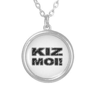 Kiz Moi! Kizomba French Silver Plated Necklace