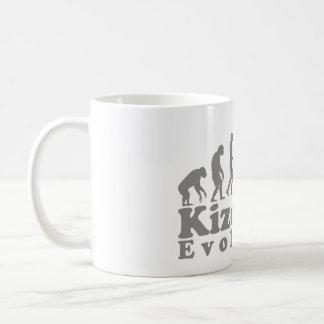 kizomba couple grey coffee mug