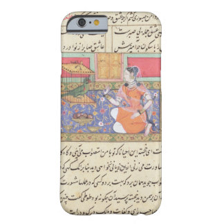 Kjujista, the Merchant's Wife, talking to a Parrot Barely There iPhone 6 Case