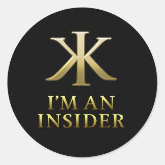 KKI Circle Stickers