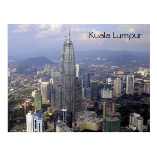 kl skyline postcard
