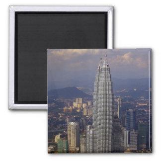 kl skyline towers magnet