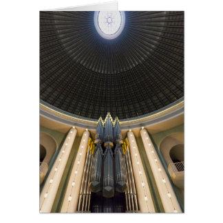 Klais organ, St Hedwig's, Berlin Card
