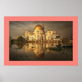 Klang Mosque Malaysia Canvas Print