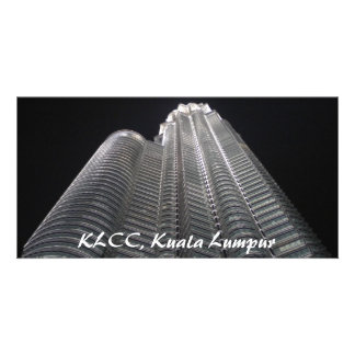 KLCC Kuala Lumpur photocard Photo Greeting Card