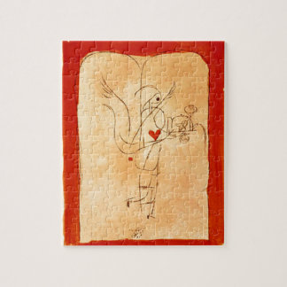 Klee - A Spirit Serves a Small Breakfast Jigsaw Puzzle