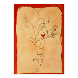 Klee - A Spirit Serves a Small Breakfast Poster
