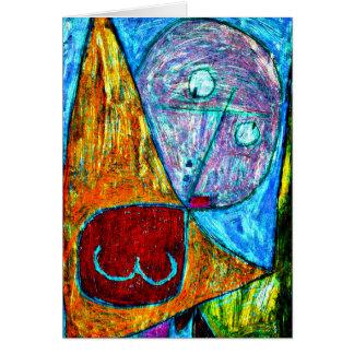 Klee - Angel Still Feminine Card