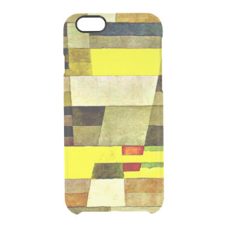 Klee art, Monument Clear iPhone 6/6S Case