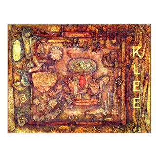 Klee - Botanical Theater Postcard