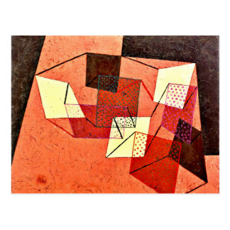 Klee - Braced Surfaces Postcard