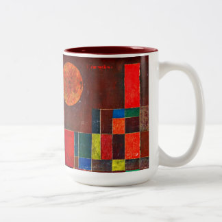 Klee - Castle and Sun Two-Tone Coffee Mug
