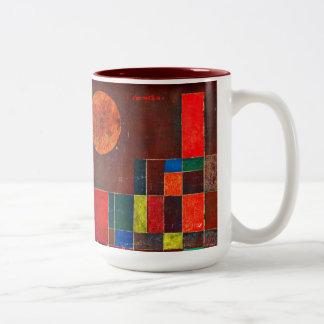 Klee - Castle and Sun Two-Tone Mug