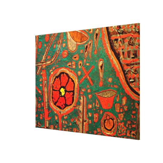 Klee - Efflorescence Canvas Print
