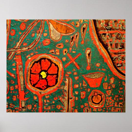 Klee - Efflorescence Poster
