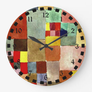 Klee: Flora on Sand Large Clock