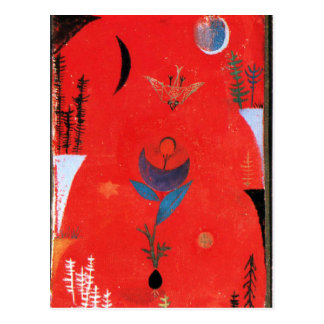 Klee - Flower Myth Postcard