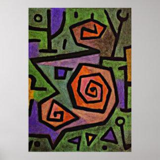 Klee - Heroic Roses Poster