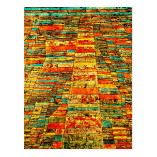 Klee - Highway and Byways Postcard