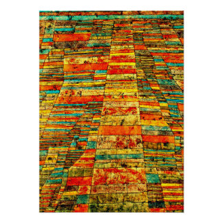 Klee - Highway and Byways Poster
