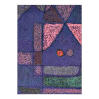 Klee - Small Room in Venice Poster