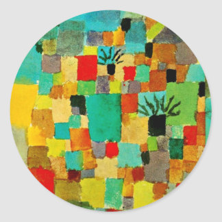 Klee - Southern (Tunisian) Garden Classic Round Sticker