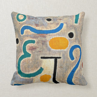 Klee: The Vase abstract art Cushion