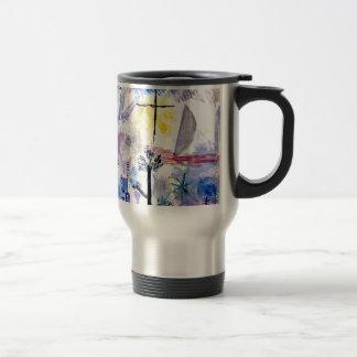 Klee - Unfinished Landscape, Paul Klee painting Travel Mug