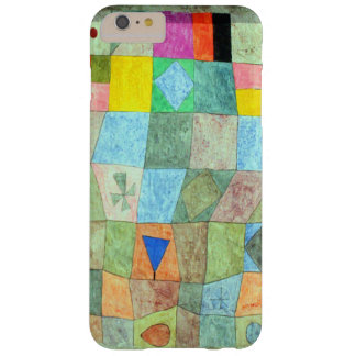 "Klee Vibrant Abstract ""Friendly Games"" Boho-Chic Barely There iPhone 6 Plus Case"