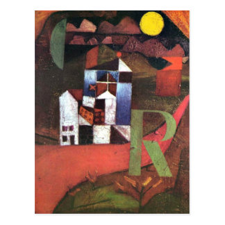 Klee - Villa R Postcard