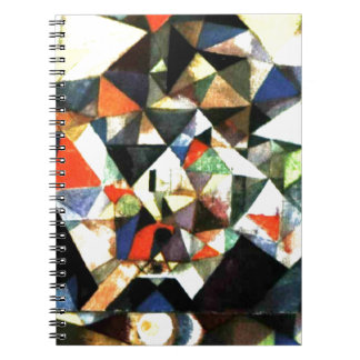 Klee: With the Egg, Paul Klee painting Spiral Notebook