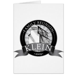 Klein Reunion Greeting Card